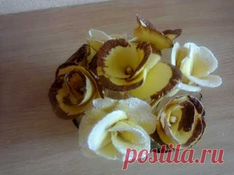 Сладкие розочки (выпечка).  Sweet rosettes (baking)
