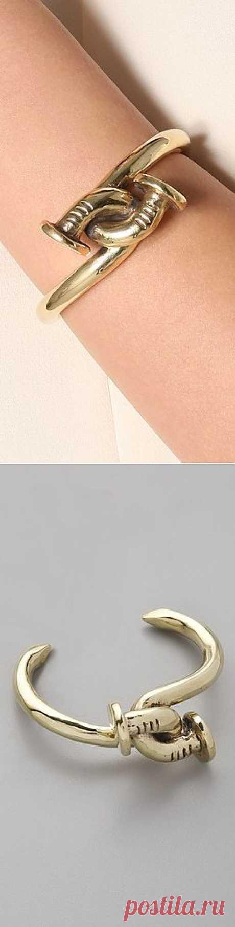 Браслет из гвоздей / Украшения и бижутерия / Модный сайт о стильной переделке одежды и интерьера