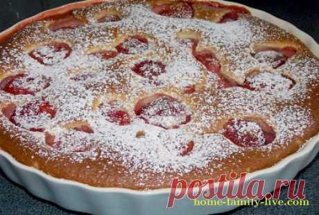 Клафути/Сайт с пошаговыми рецептами с фото для тех кто любит готовить clafoutis