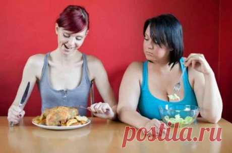 Есть и не толстеть: 5 простых уловок, чтобы еда не превратилась в жир
