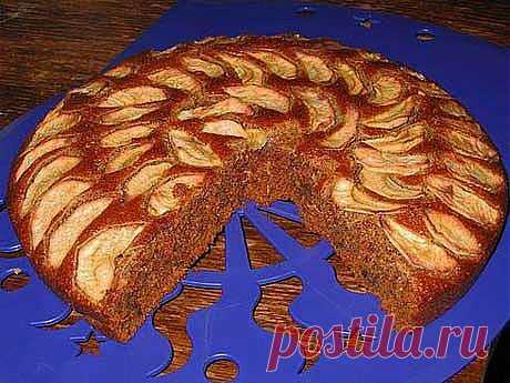 Постная коврижка с яблоками | Православие и мир