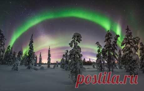 Apatity, la región de Múrmansk. El autor de la foto – Vitaly Istomin: nat-geo.ru\/photo\/user\/120628\/ Buenas noches, recordáis: ¡por la mañana seremos esperados ya en primavera!