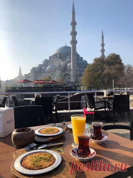 Завтрак под Сулейманией