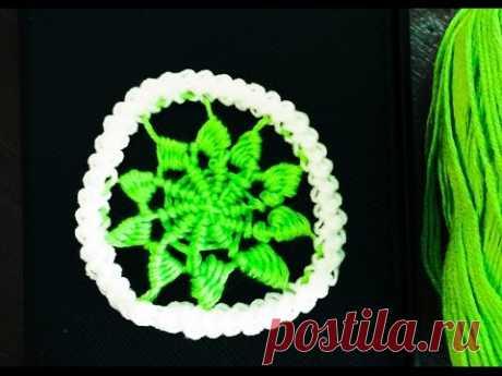 Crochet Pattern - Romanian point lace - circle/ wheel - YouTube Образец вязания крючком - румынское кружево - круг / колесо