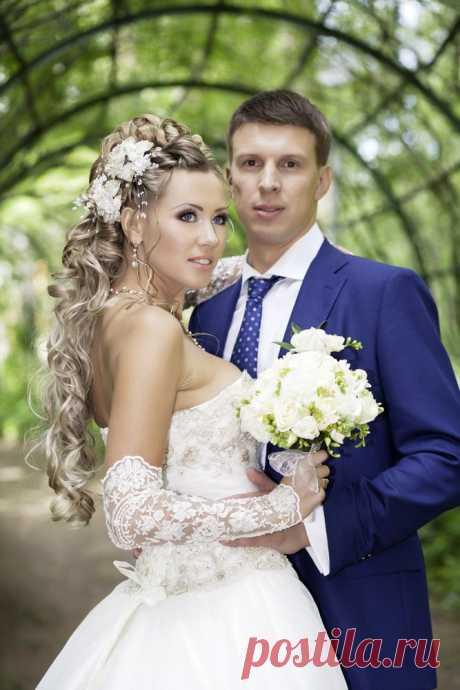 Романтика в свадебном образе