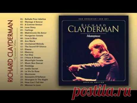 Richard Clayderman - Greatest hits of Piano - The Very Best of Richard Clayderman
