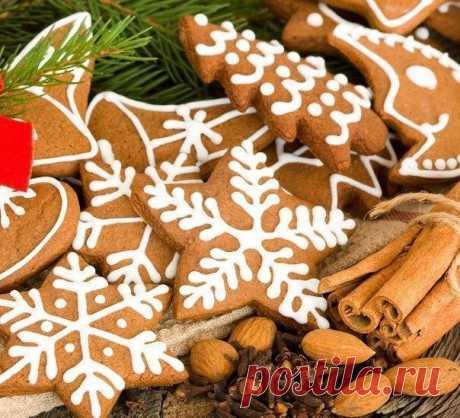 Вкусное печенье на новогодний стол