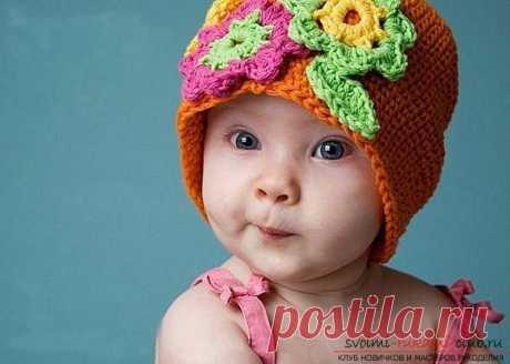 Выкройка чепчика для новорожденного малыша совсем не сложная, как и пошив изделия