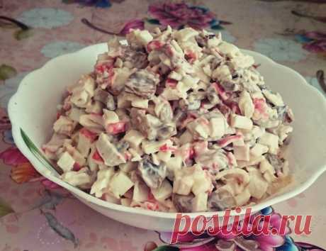 Продукты стоят копейки, а вкус запоминается на всю жизнь: салат Джульетта