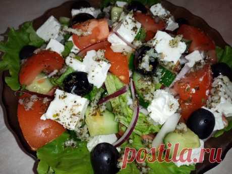 Вкусный Греческий салат, который можно кушать даже в Пост. И варить ничего не надо Греческий салат — закуска, которая признана во всем мире. Его подают в лучших ресторанах во Франции, Италии, Испании и, конечно же, самой Греции. Несмотря на … Читай дальше на сайте. Жми подробнее ➡