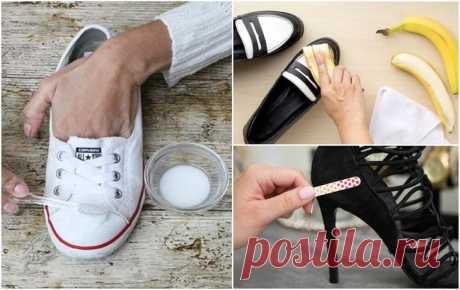 10 интересных трюков, чтобы ваша обувь стала как новая! А вы знали, что зубная паста может вернуть белизну не только зубам, но и спортивной обуви или той, что на резиновой подошве?.. Обувь — неотъемлемая часть нашего повседневного гардероба. И, конечно, ту...