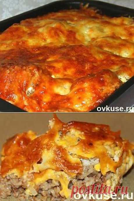 Курица с гречкой под сырной корочкой - Простые рецепты Овкусе.ру