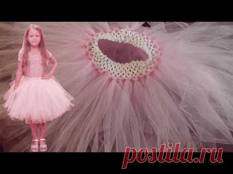Фатиновая юбка-пачка за 1 час | БЕЗ ШИТЬЯ И ВЫКРОЙКИ
