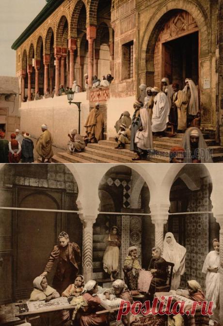 África del Norte perdida: las imágenes exclusivas de color de lejano pasado