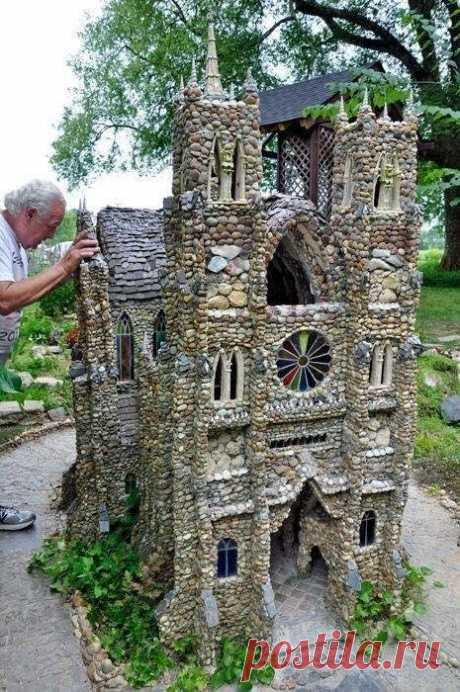 Замок из камня!  Класс!
