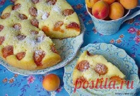 Пирог, который можно испечь с любыми фруктами