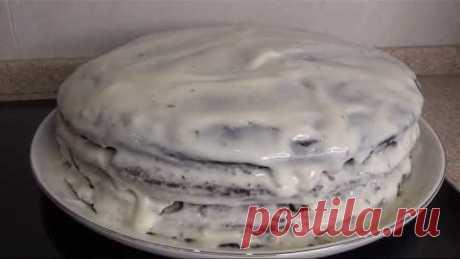 Черемуховый торт! Быстрый торт, который покорит всех! Сочный, нежный, тает во рту! Сметанный крем