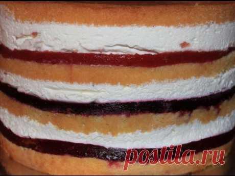 Кули или как сделать фруктовую прослойку в торте