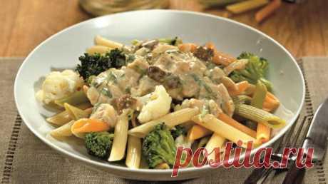 Паста с цветной капустой, брокколи и грибным соусом, пошаговый рецепт с фото Паста с цветной капустой, брокколи и грибным соусом. Пошаговый рецепт с фото, удобный поиск рецептов на Gastronom.ru