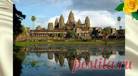 Удивительный Ангкор— жемчужина Камбоджи. Загадка великого храма