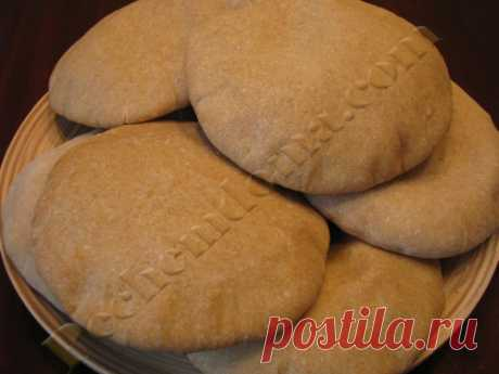 Пита — традиционный арабский хлеб — лепешка   Pechemdoma.com