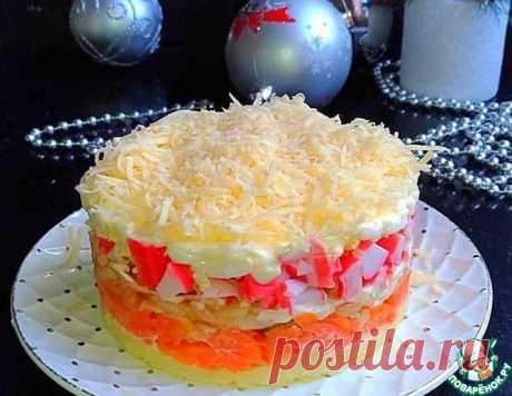 Салат крабовый по-новому – кулинарный рецепт