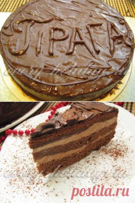 Торт Прага, рецепт с фото пошагово