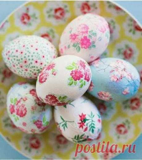 To make an easy and inexpensive way of an Easter egg the real masterpiece