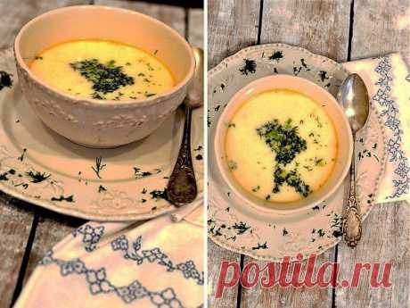 Сырный суп с семгой | Готовим вместе