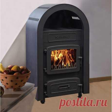 Печь-камин на дровах WAMSLER Matra 6 кВт купить за 24 566 руб. в Москве