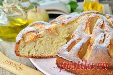 Яблочный пирог из детства - пошаговый рецепт с фото на Повар.ру