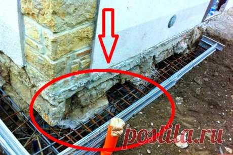Как быстро и безопасно укрепить фундамент старого дома? | ЯМАСТЕР | Яндекс Дзен