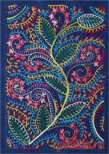 Embroidery secrets