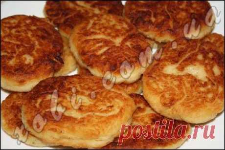лепешки из картофеля и капусты