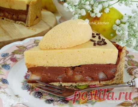 Шоколадно-грушевый тарт с кремом шибуст – сайт рецептов Юлии Высоцкой