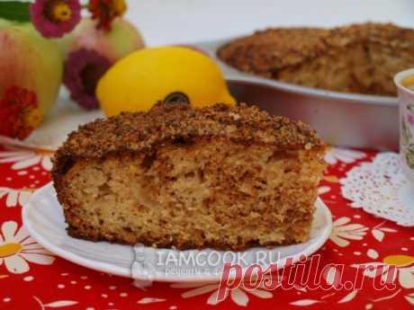 Проверенный рецепт приготовления вкусного макового пирога с яблоком, медом и грецкими орехами, шаг за шагом с фотографиями.