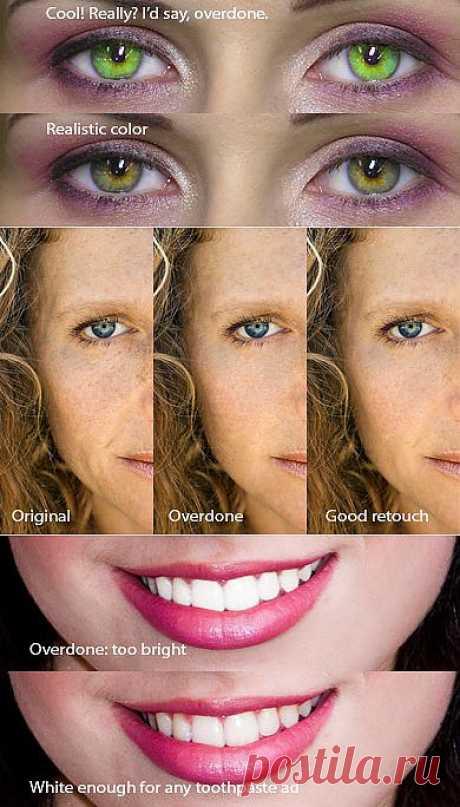 10 запретов ретуширования