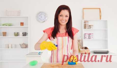 14 простых секретов, как сделать вашу кухню чище