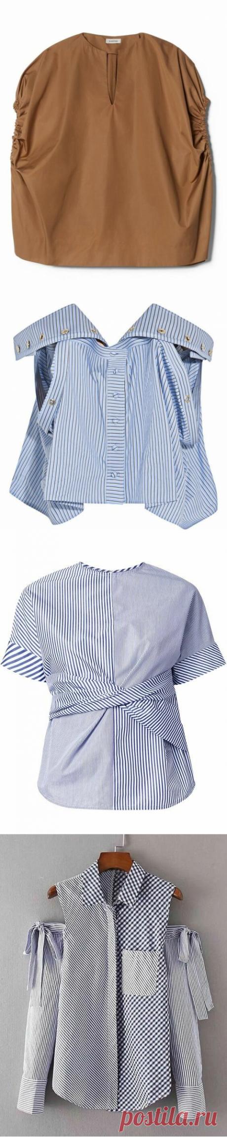 Стильная подборка необычных блузок- рубашек | МАТРИЦА МОДЫ | Яндекс Дзен