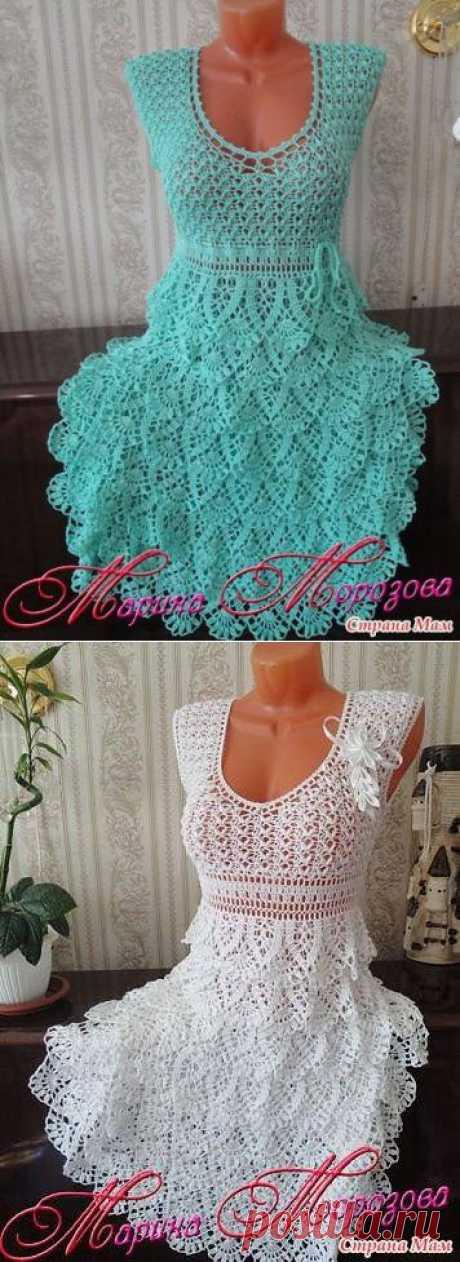 Обалденные платья от Марины Морозовой.