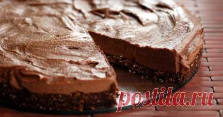 Торт из печенья с «Нутеллой» без выпечки Вкуснятина,а не торт!