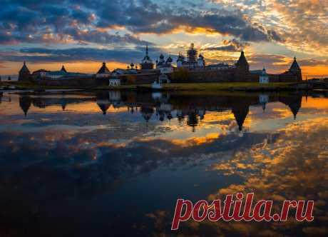 Los paisajes en realidad rusos.