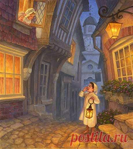 Иллюстратор Скотт Густафсон (Scott Gustafson) - 117 иллюстраций - Чтоб мы так жили!