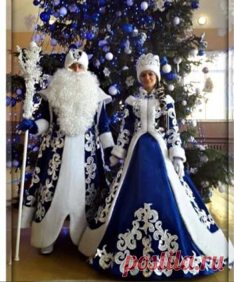 What beautiful FATHER FROST and SNOW MAIDEN!!! To be stunned!!!