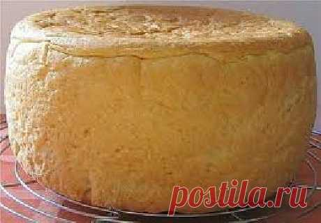 The recipe of white loaf in the crock-pot
