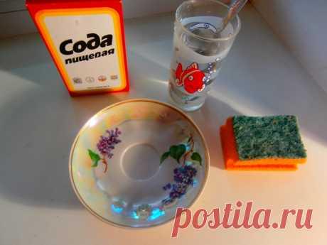 Как отмыть жир на кафельном фартуке на кухне содой