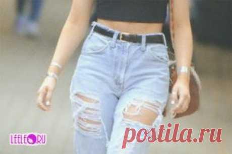 Мамины джинсы или Mom Jeans современные образы (фото)