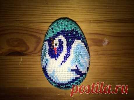 Показываю то,что знаю по плетению способом ручное ткачество. Можно создавать любые орнаменты и рисунки на яйце бисером.