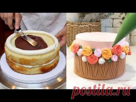 Торты  14лучших идеи сборки и украшение тортов  Cakke  14 best cake assembling and decorating ideas.