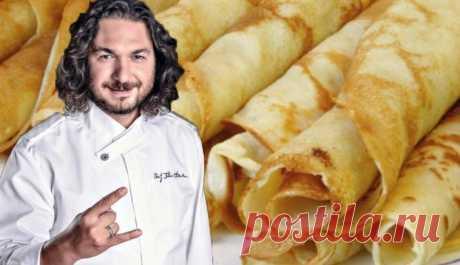 Шеф-повар раскрыл свой секрет самых вкусных блинов! — informed news 24